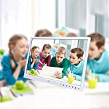 Basde 15-Inch HD LCD Digital Photo Frame with Multimedia Playback Contemporary Design Compatible with multiple devices