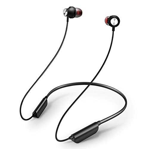 TDYY Bluetooth Headphones Lightweight Earbuds In-Ear Earphones Sports Headsets Magnetic Earbuds Bluetooth 4.1 Noise Canceling Sweatproof