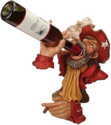 Captain Wine Bottle Holder (Red Coat Captain Wine Bottle Holder)