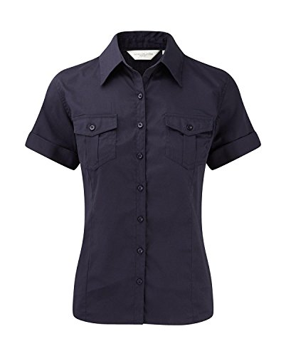 Russell Collection - Camisas - Manga Corta - para mujer Blue - French Navy