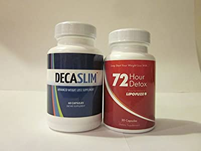 Best Diet Pill DECASLIM - Top Diet Pill of 2014 - Quick Weight Loss + LIPOFUZE 72 Hour Detox