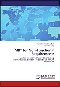 Master thesis requirements engineering