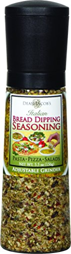Dean Jacobs Jumbo Grinder- Bread Dipping Seasonings-5.5 oz
