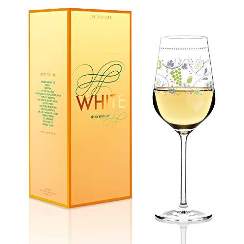 Ritzenhoff Verre à vin blanc conçu Par Sandra Brandhofer Tasse 2015 Multicolore (Vin Blanc)