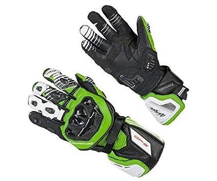 Kawasaki Ninja Guantes de Cuero Negro/Verde - 2XL: Amazon.es ...