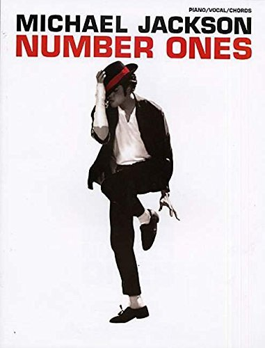 Michael Jackson Number Ones Piano Vocal Chords (Pvg) by Michael Jackson (2008-04-01) (Music Sheet Pvg Book)