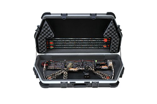 "Price comparison product image SKB Universal Parallel Limb Bow Case. 39.00"" L x 18.00"" W x 7.50"" D. Accommodates most bows w / quivers,  sights,  stabilizers."