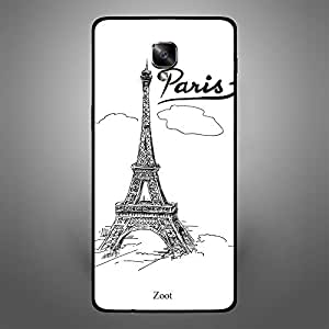 OnePlus 3T Doodle Eiffel Tower