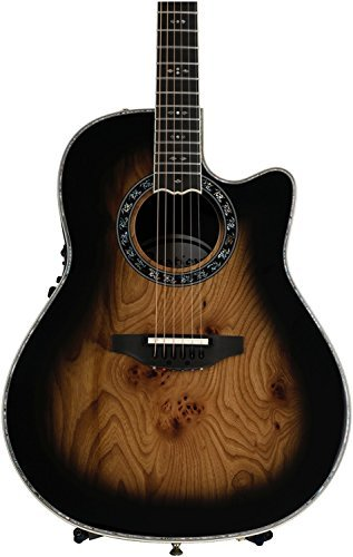 (Ovation ExoticWoods Collection 12 String Acoustic-Electric Guitar, Right, Sapele Purple Burst (C2059AXP-SPB))