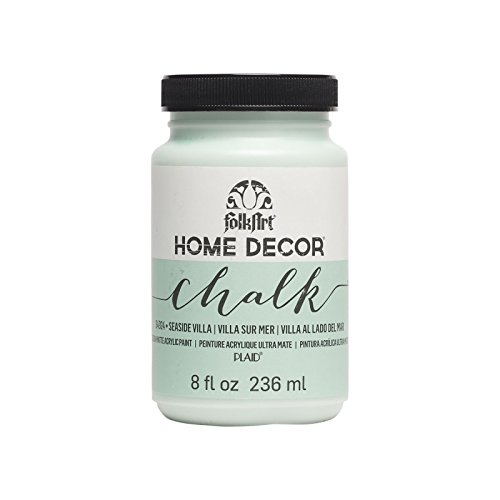 (FolkArt Home Decor Chalk Paint 8oz, Seaside Villa)
