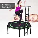 Best Fitness Trampolines - MOVTOTOP Mini Trampoline with Safety Pad, Indoor Trampoline Review