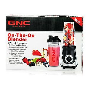 gnc-on-the-go-blender-black-6-pc-set-ultra-sharp-stainless-steel
