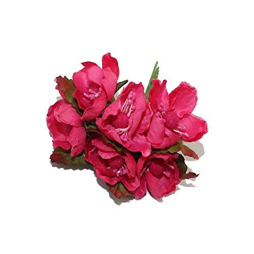 Blue-shore 12PCS 3.5-4cm Artificial Wintersweet Flower for Gift Box Decorative,8