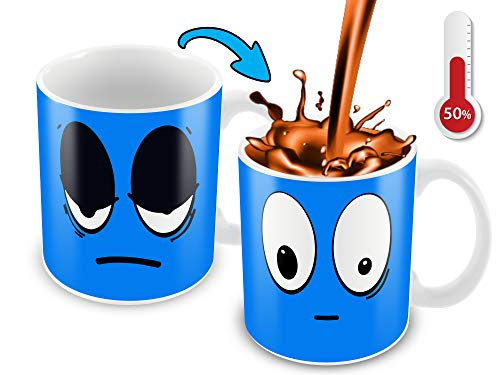 Morphing Coffee Mug. 11 Ounce. Changing Color Mug