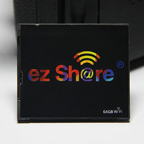 New hot Sold Ez Share WiFi cf Card 32G DLSR Camera Wireless Canon 7D highspeed 5D2 Compact Flash Memory Card WiFi Card (32GB) by EZ SHARE (Image #1)