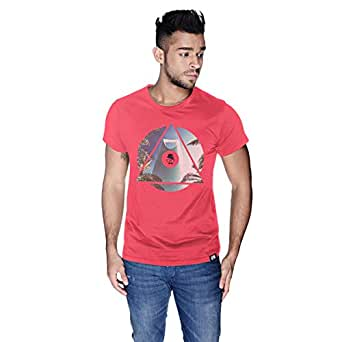 Creo Riyadh T-Shirt For Men - L, Pink