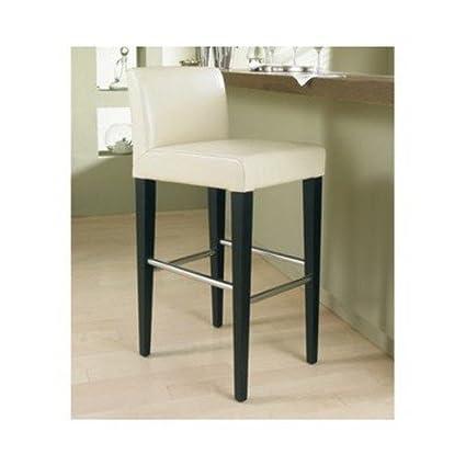Excellent Amazon Com Sunpan Modern Oriana Leather Counter Stool Bralicious Painted Fabric Chair Ideas Braliciousco