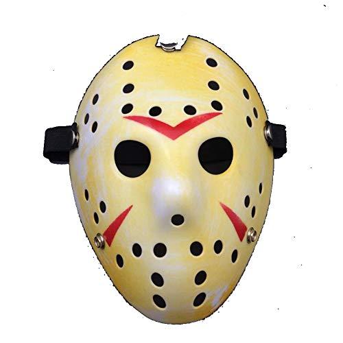 PLAYER-C Jason Vs Friday The 13Th Horror Hockey Cosplay Costume Halloween Killer Masquerade Mask Halloween Mask Action Figure Toys ()