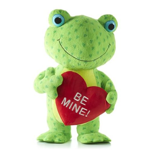 Hallmark Hearts a Hoppin Frog with Sound and Motion -