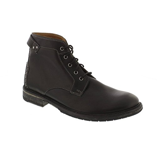 Clarks Clarkdale Bud - Black Leather Mens Boots 9 US