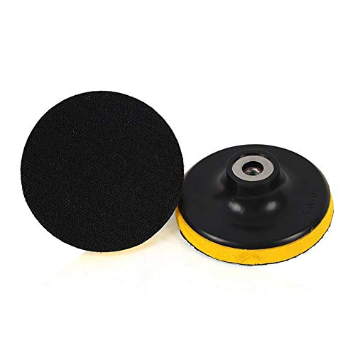 (Ocamo Polishing Disc Suction Cup Sandpaper Sucker Polishing Disc for Electric Grinder Polish (5-inch))