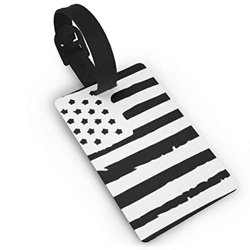 Sheery American Flag Luggage Tags Business Card Holder Travel ID Bag Tag