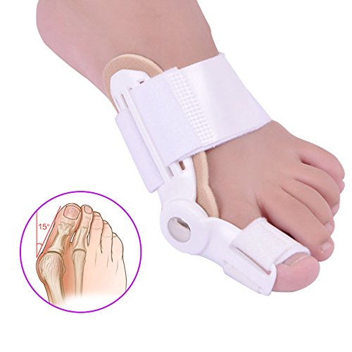 ZSZBACE Bunion Splint Corrector- Bunion Pain Relief - Orthopedic Hallux Valgus Regulator Bunion Pads- Toe Straightener to Realign Toe and Effective Foot Pain Relief- 2 pcs for Left and Right Foot by ZSZBACE