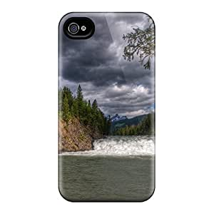Iphone 6plus PUE22903xpbO Fantastic Waterfall Scape Hdr Tpu Silicone Gel Cases Covers. Fits Iphone 6plus