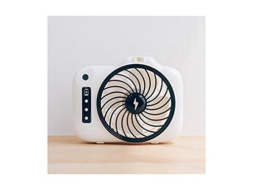 Junson Portable Smallfan Handheld Portable USB Fan with Mini Fan Camera Fan Student Fan (Black) for Summer
