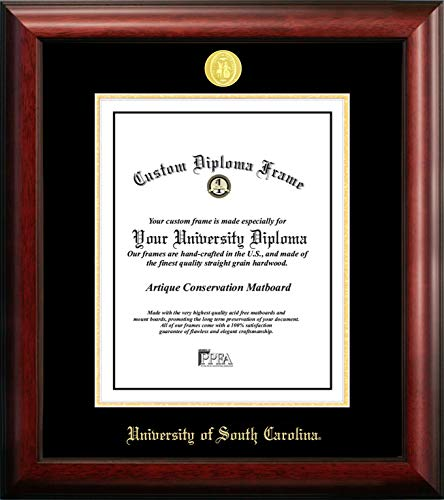 Campus Images University of South Carolina 11w x 14h Gold Embossed Diploma Frame ()