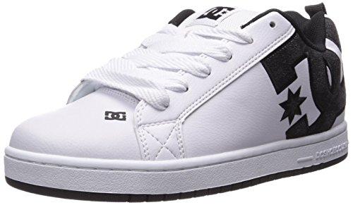 DC Shoes - Sneaker COURT GRAFFIK SHOE, Uomo White Wg2