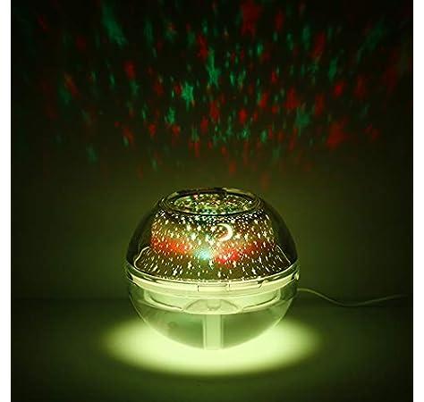 Moouk - Difusores de aceite esencial, proyector de luz, 500 ml ...