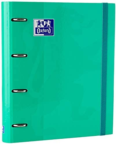 Oxford School Schreibmappe A4 A4 blau (Ice Mint)