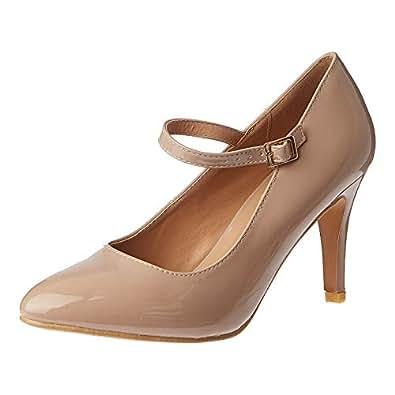 Shoexpress Heel Shoes for Women - Nude
