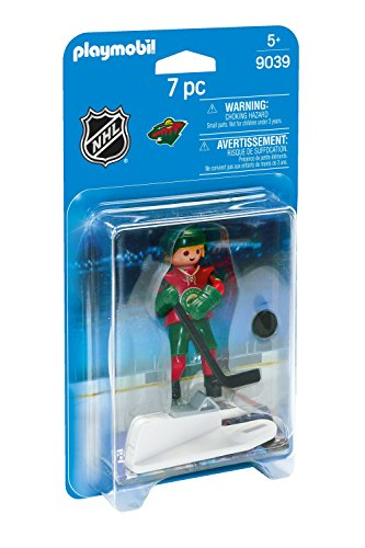 PLAYMOBIL NHL Minnesota Wild Player - Minnesota Wild Set