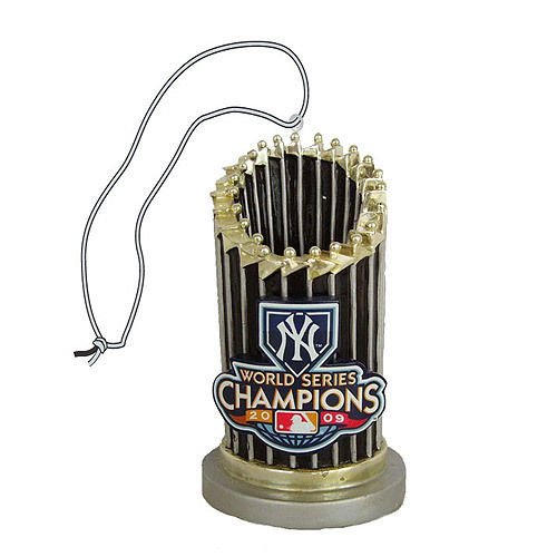 - NewYork YANKEES 2009 World Series Champ TROPHY ORNAMENT
