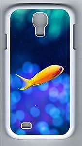 Samsung S4 Case Goldfish1 PC Custom Samsung S4 Case Cover White