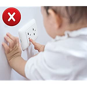 Outlet Plug Covers (36 Pack) Ultra Clear Child Proof Electrical...