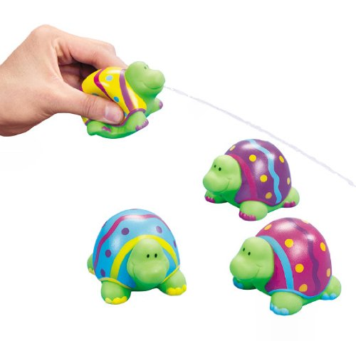 Easter Turtle Squirts (12 Count)Toy/Vinyl/Easter Basket/Goody Bag/Grab (Squirt The Turtle)