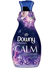 Downy Infusions Fabric Softener Liquid, Calm, Lavender & Vanilla Bean, 1.92 L - Packaging May Vary