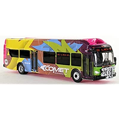Iconic Replicas New Flyer Excelsior Comet Columbia South Carolina 1:87 Scale-HO Scale diecast Bus New: Toys & Games