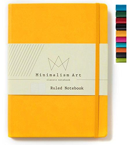 Minimalism Art | Classic Notebook Journal, Size: 8.3
