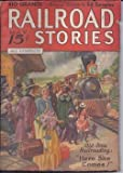 img - for RAILROAD Stories: May 1936 book / textbook / text book