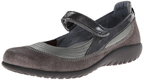 Naot Footwear Women's Kirei Mary Jane Flat - Sterling Lea...