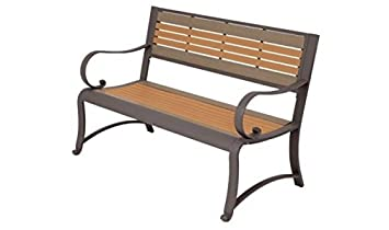 Kirby Built Products Two-Tone Garden Bench – 4 Foot