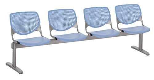 KFI Seating 2300BEAM4-P20 Kool 4 Seat Beam Bench, Peri Blue, Peril ()