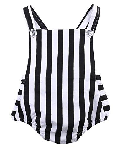 Newborn Striped Bodysuit Jumpsuit Outfits product image