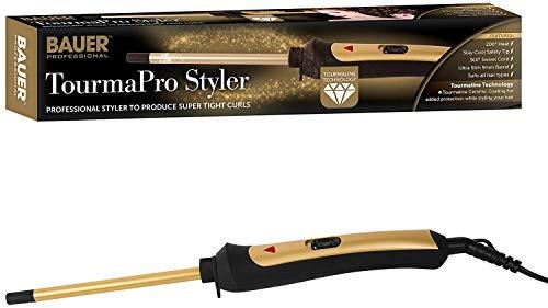 Bauer TourmaPro Styler - Ceramic Ultra Slim 9mm Curling Wand ()