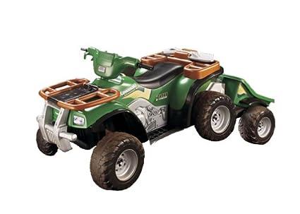 amazon com kawasaki adventure 4x4 with trailer toys \u0026 gamesPower Wheels Jeep Jr 4x4 Parts #18
