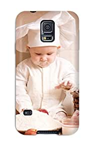 HowellGraves NgmJfwG12993NVViC Protective Case For Galaxy S5(cute Chef)